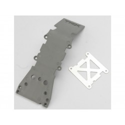 S-Maxx/E-Maxx - kryt přední nápravy šedý