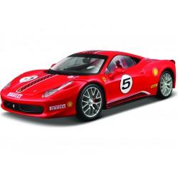 Bburago Ferrari 458 Challenge 1:24 červená