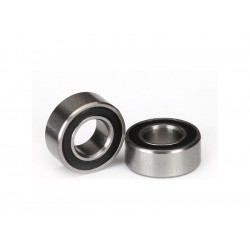 Traxxas ložisko 5x10x4mm s černým gumovým krytem (2)