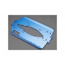 T-Maxx - šasi 4mm hliníkové modré LW