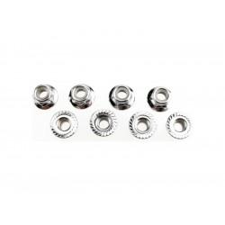 Matice s přír. samojistná ocel zink. M5 (8)