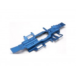 Traxxas - šasi extended 3mm hliník modrý