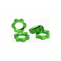 Traxxas - matice kol 17mm hliník zelený (4)
