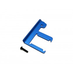 Traxxas - přepážka šasi 3mm hliník modrá