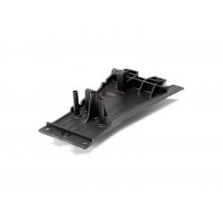 Slash 2WD: Spodní kryt LCG šasi černý