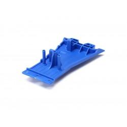 Slash 2WD: Spodní kryt LCG šasi modrý