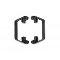 Slash 1/10 2WD: Boční nárazníky LCG šasi černé