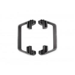 Slash 1/10 2WD: Boční nárazníky LCG šasi šedé
