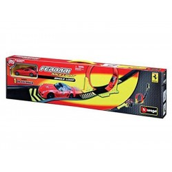 Bburago 1:43 Ferrari Single Loop + 1x auto