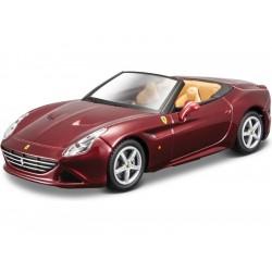 Bburago Signature Ferrari California T 1:43 metalická vínová