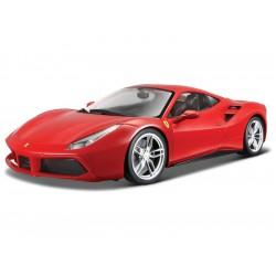 Bburago Signature Ferrari 488 GTB 1:43 červená