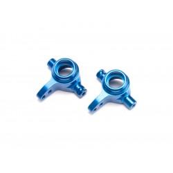 Traxxas - přední hliníková těhlice modrá (P+L)