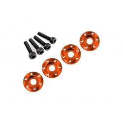 LaTrax - Podložka disku hliník oranžový, šroub M3x12mm CS...