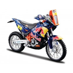 Bburago Red Bull KTM 450 Rally Dakar 1:18 1