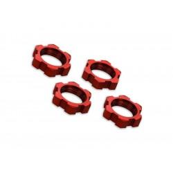 X-Maxx: Matice kol 17mm červené (4)