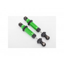 Tlumič GTS hliníkový zeleně eloxovaný (2)