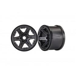 """Traxxas disk 3.8"""" černý (2) 17mm drážkovaný"""