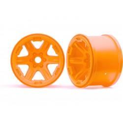 """Traxxas disk 3.8"""" oranžový (2) 17mm drážkovaný"""