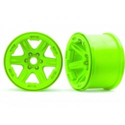 """Traxxas disk 3.8"""" zelený (2) 17mm drážkovaný"""
