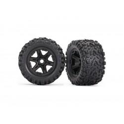 """Traxxas kolo 3.8"""" černé, pneu Talon EXT a vložkou (2)"""