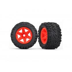 """Traxxas kolo 3.8"""" oranžové, pneu Talon EXT s vložkou (2)"""
