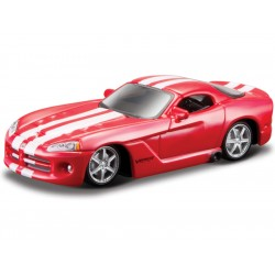 Bburago Dodge Viper STR 10 1:64 červená
