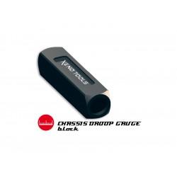Blok pod šasi pro měření propadu ramen 1:8-10 20mm