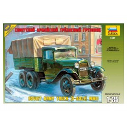 Zvezda sovětský automobil GAZ-AAA (1:35)
