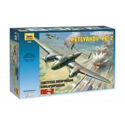 Zvezda letadlo Petlyakov Pe-2 (1:48)