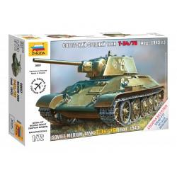 Zvezda Easy Kit T-34/76 (1:72)