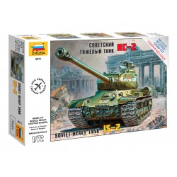 Zvezda Easy Kit IS-2 Stalin (1:72)