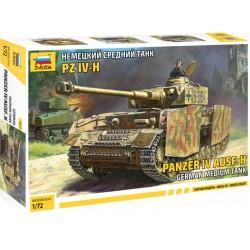 Zvezda Panzer IV Ausf.H (1:72)
