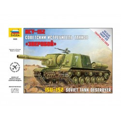 Zvezda Easy Kit samohybné dělo ISU-152 (1:72)