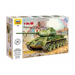 Zvezda Easy Kit tank T-34/85 (1:72)