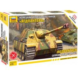 Zvezda Snap Kit německý tank Jagdpanther (1:72)