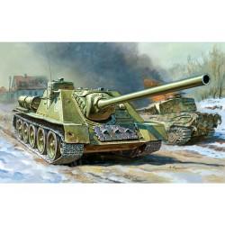 Zvezda Easy Kit stíhač tanků SU-100 (1:72)