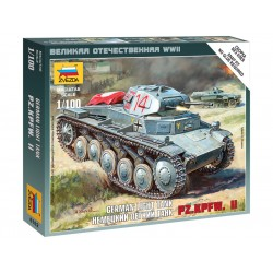 Zvezda Easy Kit German Panzer II (1:100)