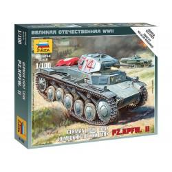 Zvezda Easy Kit German Panzer II (1:100)