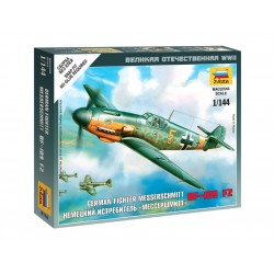 Zvezda Easy Kit Messerschmitt Bf 109F-2 (1:144)