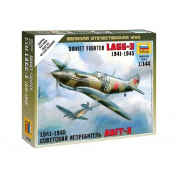 Zvezda Easy Kit Soviet Fighter LaGG-3 (1:144)