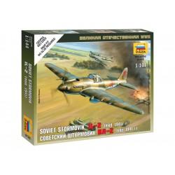 Zvezda Easy Kit Ilyushin IL-2 Stormovik (1:144)