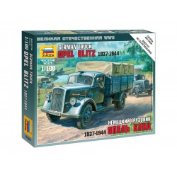 Zvezda Easy Kit German 3t Truck (1:100)