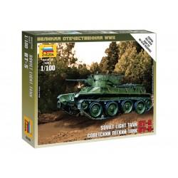Zvezda Easy Kit Soviet Tank BT-5 (1:100)