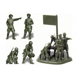 Zvezda figurky - sovětské velitelství (1:72)