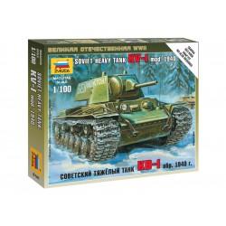 Zvezda Easy Kit Soviet Heavy Tank KV-1 (1:100)