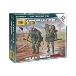 Zvezda figurky - německý zdravotní tým 1941-43 (1:72)