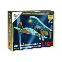 Zvezda Easy Kit Soviet Plane PO-2 (1:100)