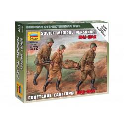 Zvezda figurky - ruští zdravotníci 1941-42 (1:72)