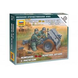 Zvezda figurky - německé pěchotní dělo 75mm (1:72)