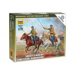 Zvezda figurky - sovětská kavalerie (1:72)